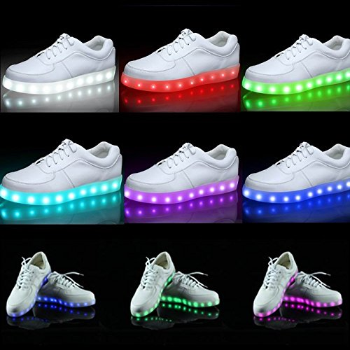 100% authentic 413d4 7d850 Beleuchtung LED Schuhe - rote Turnschuhe | LED Schuhe | GET ...
