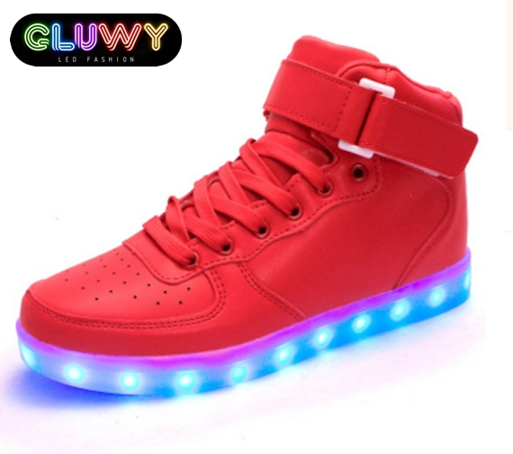 Shoes LED shining Gluwy