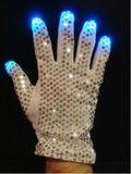 Disco RGB Handschuhe - Silber