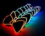 Beleuchtung der Männer Fliege - lila