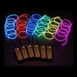 Glow El Wire 2,3mm - weiß