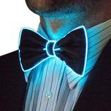 Bow Ties - Blau blinkend