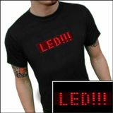 LED T-Shirt mit scrooling Anzeige