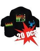Led T-shirts - 20x Pack