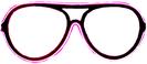 Gläser Neon - Pink