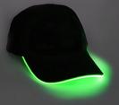 Blinkende Kappe - Grün