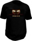 Ironman T-shirt mit led-panel