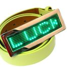 LED Gürtelschnalle - Grüne Farbe