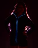 Led Hoodie - Neon Blue