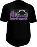 Led t-shirt - Music beat