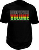 Led tshirt - Pump up the volume