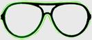 Gläser Neon - grün