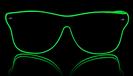 Weise Ferrer Neon Gläser - grün